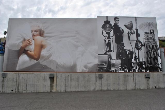 Palos Verdes Art Center: Douglas Kirkland Building Wrap Tribute