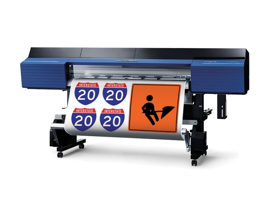 Roland DGA Traffic Sign Printing Package